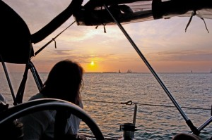 Key West Sunset with Namaste Sailing