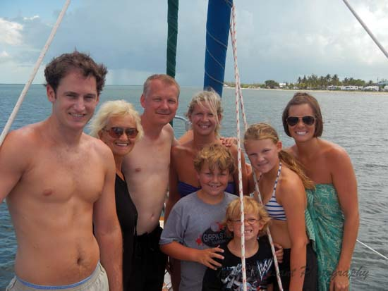 The Dominy Rogers Family enjoys Key West Activities